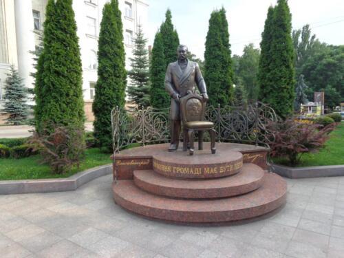 Пам'ятник Олександру Пашутіну - колишньому міському голові Єлисаветграду