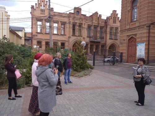Алла Бабенко - гід (екскурсовод) у Кропивницькому